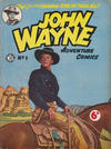 Cover for John Wayne Adventure Comics (World Distributors, 1950 ? series) #1