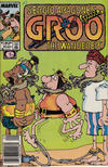 Cover for Sergio Aragonés Groo the Wanderer (Marvel, 1985 series) #43 [Newsstand Edition]