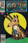 Cover for Sergio Aragonés Groo the Wanderer (Marvel, 1985 series) #45 [Newsstand Edition]