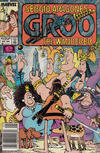Cover for Sergio Aragonés Groo the Wanderer (Marvel, 1985 series) #47 [Newsstand Edition]