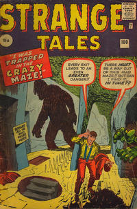 Cover Thumbnail for Strange Tales (Marvel, 1951 series) #100 [UK Edition]