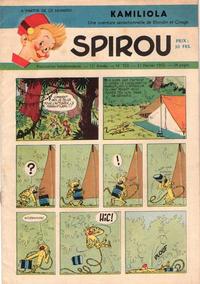 Cover Thumbnail for Spirou (Dupuis, 1947 series) #723