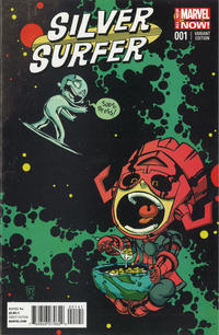 Cover Thumbnail for Silver Surfer (Marvel, 2014 series) #1 [Skottie Young Marvel Babies Variant]