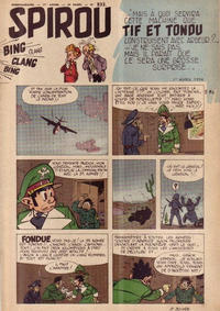 Cover Thumbnail for Spirou (Dupuis, 1947 series) #833