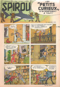Cover Thumbnail for Spirou (Dupuis, 1947 series) #875