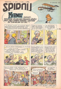 Cover Thumbnail for Spirou (Dupuis, 1947 series) #876