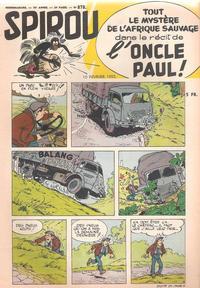 Cover Thumbnail for Spirou (Dupuis, 1947 series) #878