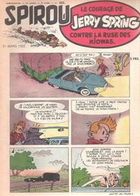 Cover Thumbnail for Spirou (Dupuis, 1947 series) #885