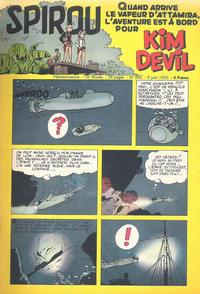 Cover Thumbnail for Spirou (Dupuis, 1947 series) #895