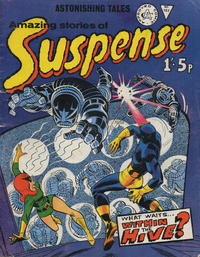 Cover Thumbnail for Amazing Stories of Suspense (Alan Class, 1963 series) #107
