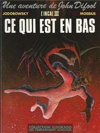 Cover Thumbnail for L'Incal (Les Humanoïdes Associés, 1981 series) #3 - Ce qui est en bas