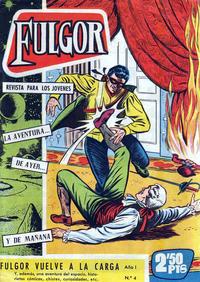 Cover Thumbnail for Fulgor (Ediciones Toray, 1961 series) #4