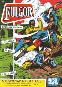 Cover Thumbnail for Fulgor (Ediciones Toray, 1961 series) #5