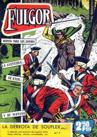 Cover Thumbnail for Fulgor (Ediciones Toray, 1961 series) #7