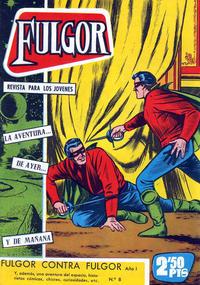 Cover Thumbnail for Fulgor (Ediciones Toray, 1961 series) #8