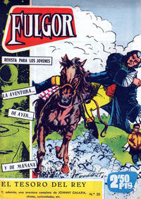 Cover Thumbnail for Fulgor (Ediciones Toray, 1961 series) #20
