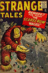 Cover for Strange Tales (Marvel, 1951 series) #81