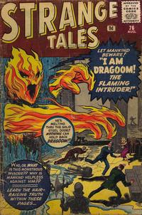 Cover for Strange Tales (Marvel, 1951 series) #76