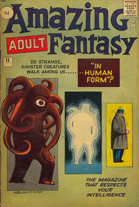 Cover Thumbnail for Amazing Adult Fantasy (Marvel, 1961 series) #11 [British]
