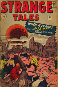 Cover Thumbnail for Strange Tales (Marvel, 1951 series) #97 [UK Edition]