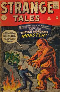 Cover Thumbnail for Strange Tales (Marvel, 1951 series) #99 [UK Edition]