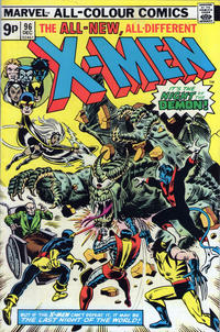 Cover Thumbnail for The X-Men (Marvel, 1963 series) #96 [British]