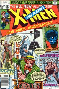 Cover for The X-Men (Marvel, 1963 series) #111 [Regular Edition]