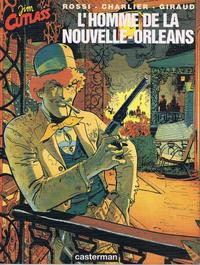 Cover Thumbnail for Jim Cutlass (Casterman, 1991 series) #2 - L'homme de la Nouvelle-Orleans