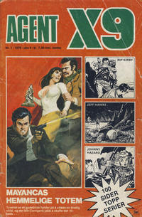 Cover Thumbnail for Agent X9 (Nordisk Forlag, 1974 series) #1/1976