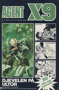 Cover Thumbnail for Agent X9 (Nordisk Forlag, 1974 series) #2/1976
