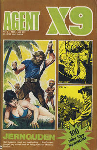Cover Thumbnail for Agent X9 (Nordisk Forlag, 1974 series) #3/1976