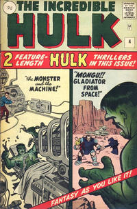 Cover Thumbnail for The Incredible Hulk (Marvel, 1962 series) #4 [British]
