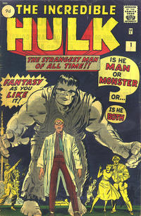 Cover Thumbnail for The Incredible Hulk (Marvel, 1962 series) #1 [British Price Variant]