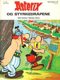 Cover Thumbnail for Asterix (Hjemmet / Egmont, 1969 series) #10 - Asterix og styrkedråpene [1. opplag]