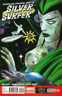 Cover Thumbnail for Silver Surfer (Marvel, 2014 series) #2