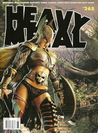 Cover for Heavy Metal Magazine (Heavy Metal, 1977 series) #268
