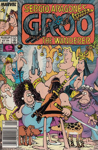 Cover for Sergio Aragonés Groo the Wanderer (Marvel, 1985 series) #47 [Direct Edition]
