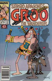 Cover for Sergio Aragonés Groo the Wanderer (Marvel, 1985 series) #49 [Direct Edition]