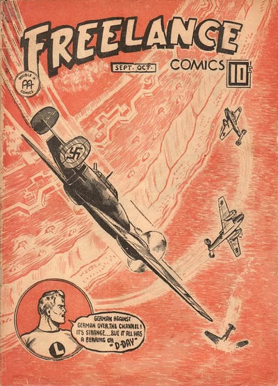 Cover for Freelance Comics (Anglo-American Publishing Company Limited, 1941 series) #v2#10