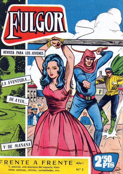 Cover for Fulgor (Ediciones Toray, 1961 series) #2