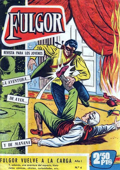 Cover for Fulgor (Ediciones Toray, 1961 series) #4
