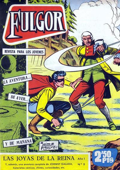 Cover for Fulgor (Ediciones Toray, 1961 series) #9
