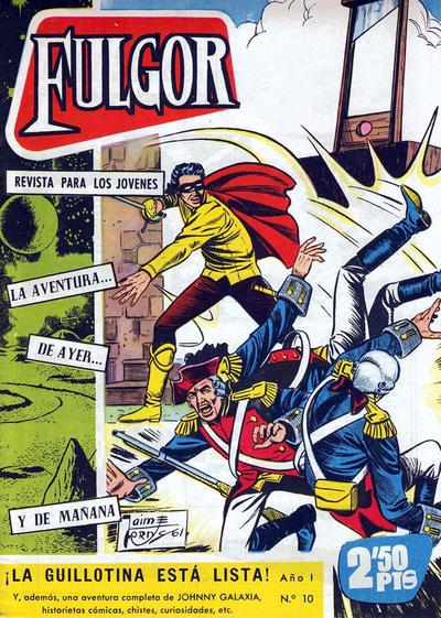 Cover for Fulgor (Ediciones Toray, 1961 series) #10