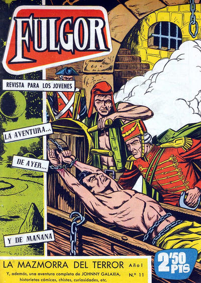 Cover for Fulgor (Ediciones Toray, 1961 series) #11