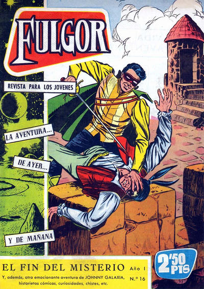 Cover for Fulgor (Ediciones Toray, 1961 series) #16