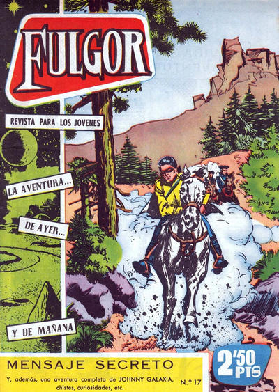 Cover for Fulgor (Ediciones Toray, 1961 series) #17