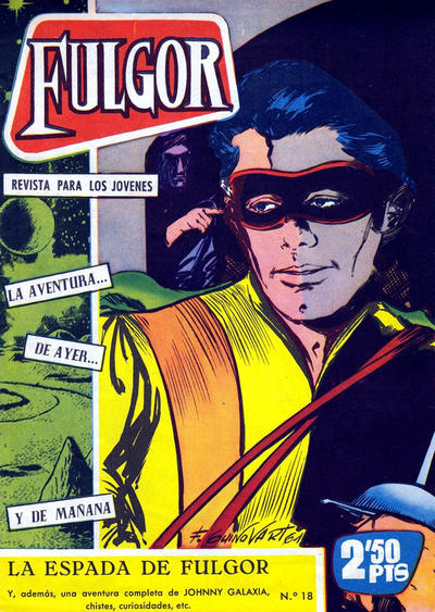 Cover for Fulgor (Ediciones Toray, 1961 series) #18