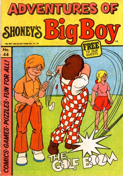 Cover for Adventures of Big Boy (Paragon Products, 1976 series) #44