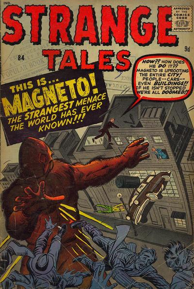Cover for Strange Tales (Marvel, 1951 series) #84