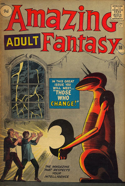 Cover for Amazing Adult Fantasy (Marvel, 1961 series) #10 [British]